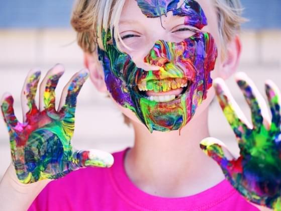 Describe yourself as a child:
