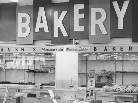 You won't have time to bake dessert. What will you pick up at the bakery counter?