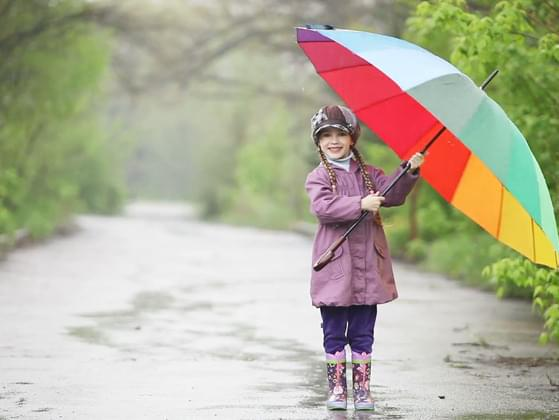 You would prefer standing out in the rain: