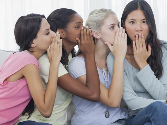 Do you pay attention to whispering happening around you?