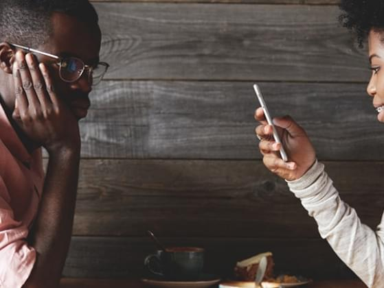 On a first date, where is your cell phone?