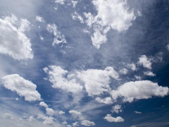 Do you ever try and find shapes in the clouds on a sunny day?