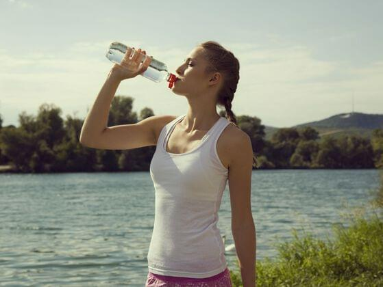 Can you drink additional water to stay safe?