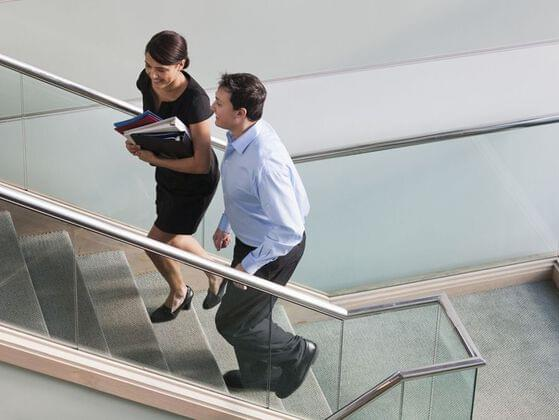 No matter where you are - in the office or in the mall - try to use the staircase instead of escalators and lift. It will help your body keep moving which is actually required for working professionals. So, ditch escalators and lifts whenever and wherever possible.