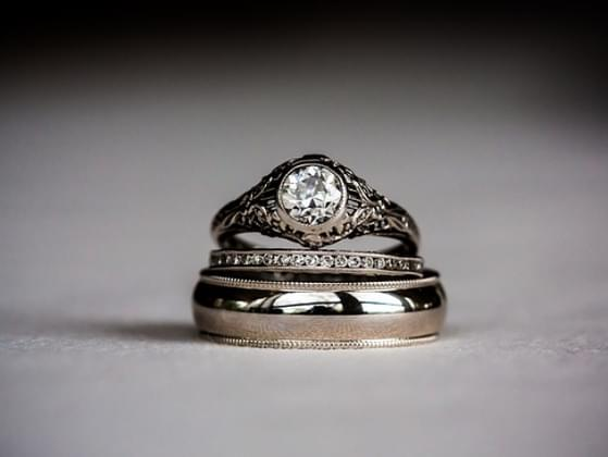 Your engagement ring...