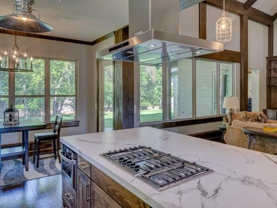 Do you want a kitchen that's more welcoming or sleek?