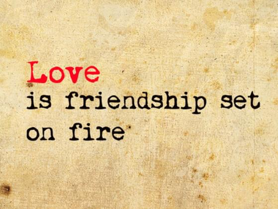 Love or friendship - which one would you value more?