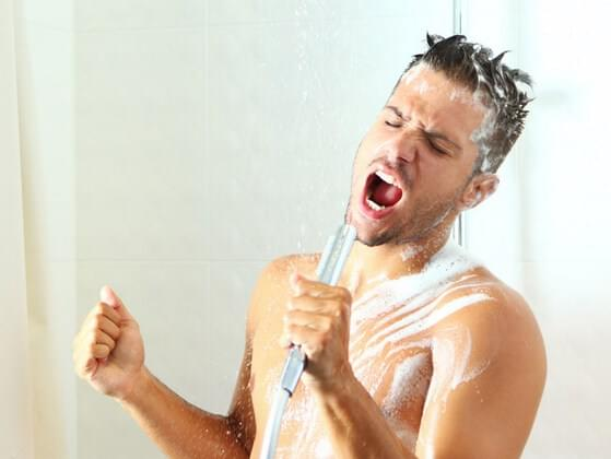 Do you sing in the shower?