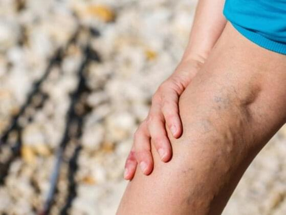 Take a peek at the vein on the inner part of your arm. Is it: