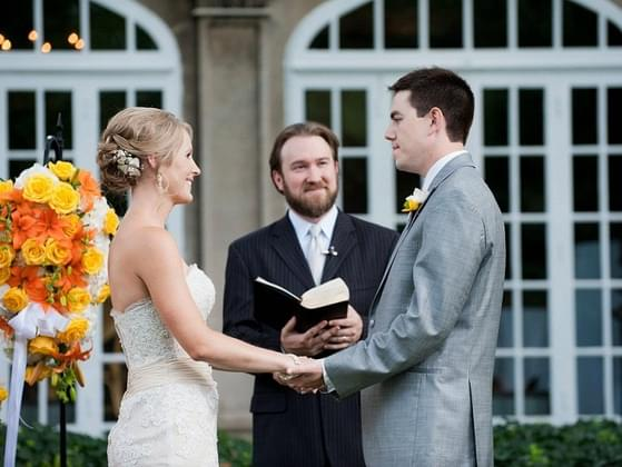 Where would you lie to exchange your vows?