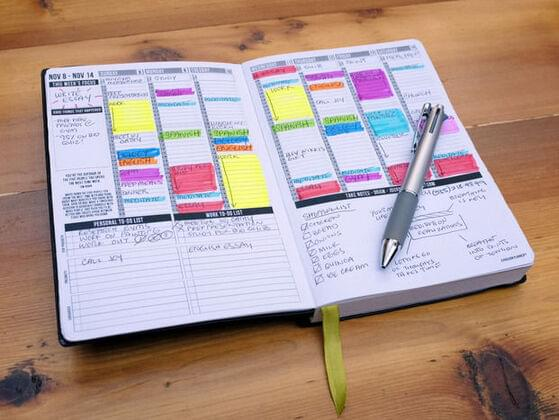 Do you have a planner?