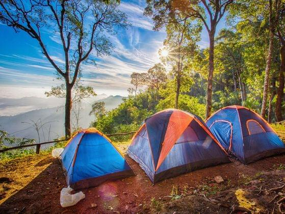 Mountains or plains - what would you prefer for your next camping?