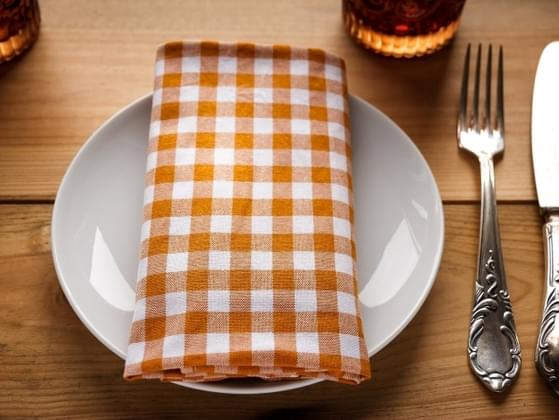 At the end of a meal, how much food is left on your plate?