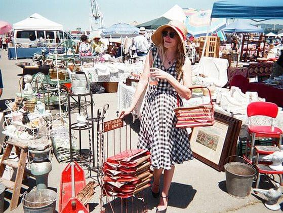 Do you enjoy going to flea markets or the mall?