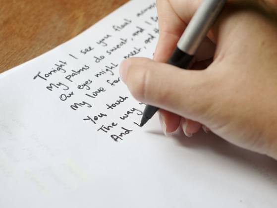 Do you write poetry?