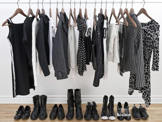 How would you describe your wardrobe?