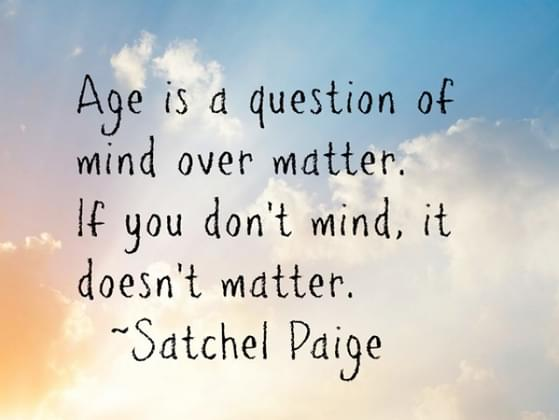 How would you define your age?