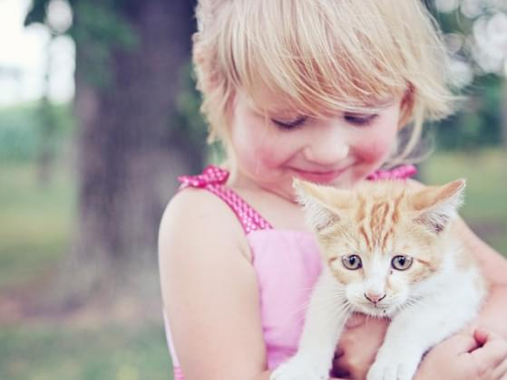 How many pets did you live with as a kid?