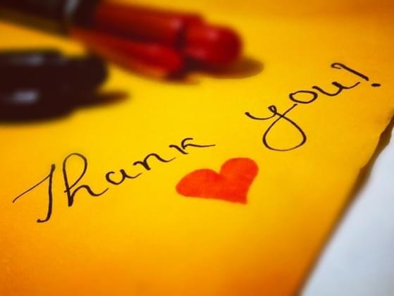 Do you send thank you notes?