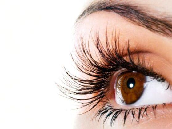 How long your eyelashes are?