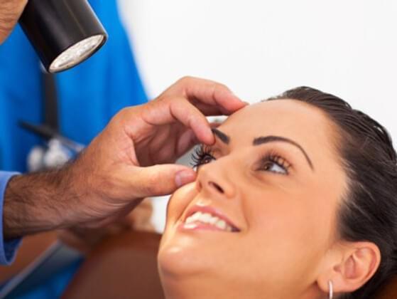 How often do you go for an eye checkup?