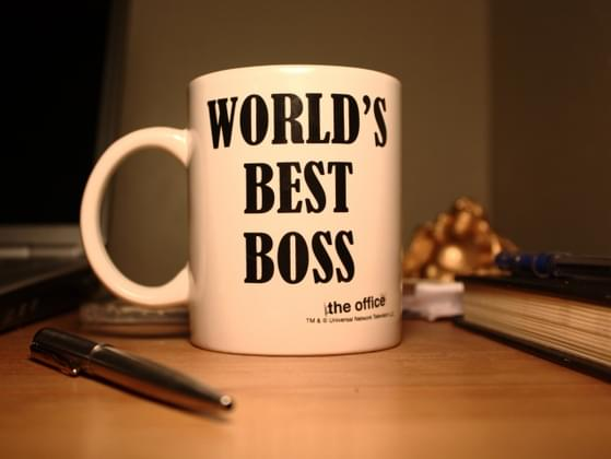 How would you describe your boss in one word?