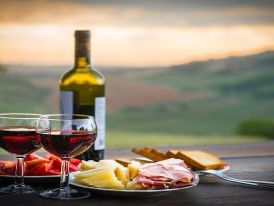 Care for a glass of red? Sangiovese is the grape used to make which Italian wine?