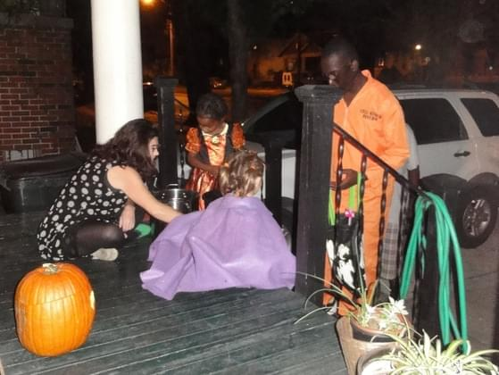 What do you typically do on Halloween night?