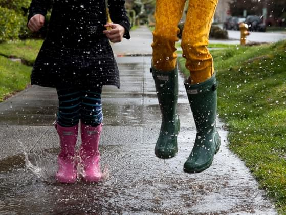 Which rainy day activity do you DISLIKE the most?