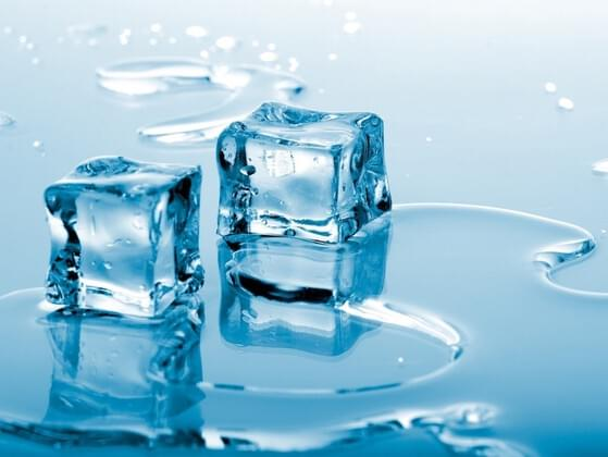 If I melt 50 grams of ice in 150 grams of water, how much water will I end up with?