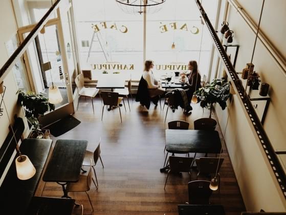 Pick a cafe design theme: