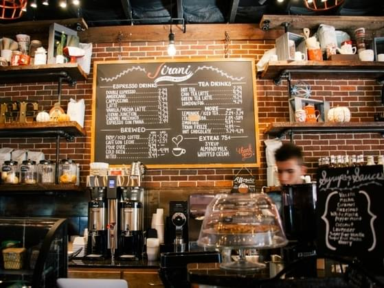 What will the lighting be like in your cafe?