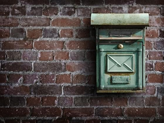 If you open the mailbox and find an invitation, how do you RSVP to the party?
