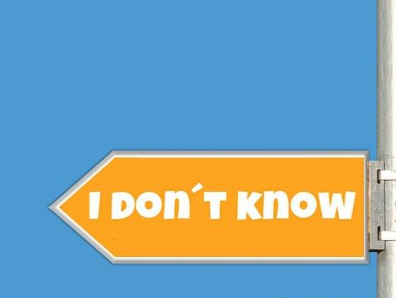 On a scale of 1-5 with 5 being very easy, how easy do you find it to admit that you do not know something?