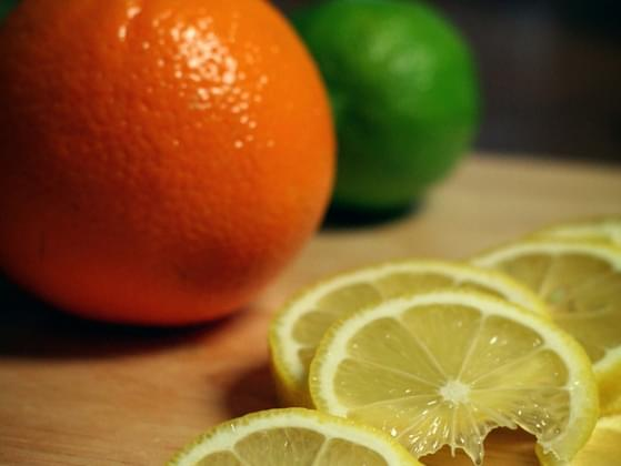 Choose a citrus fruit.