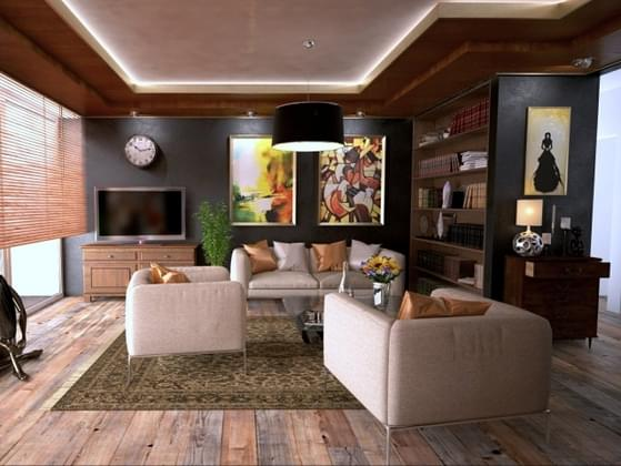 What kind of flooring would you want in your living room?