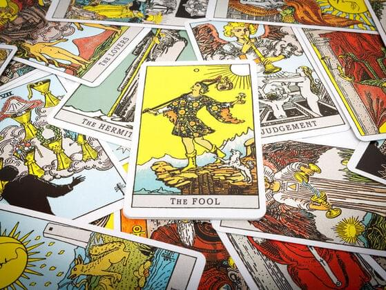 Pick the first tarot card that catches your attention.