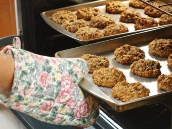 While baking, have you ever ended up with less cookies than you planned because of all the
