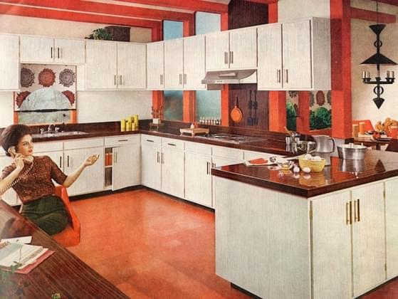 What color would your 1960s kitchen be?