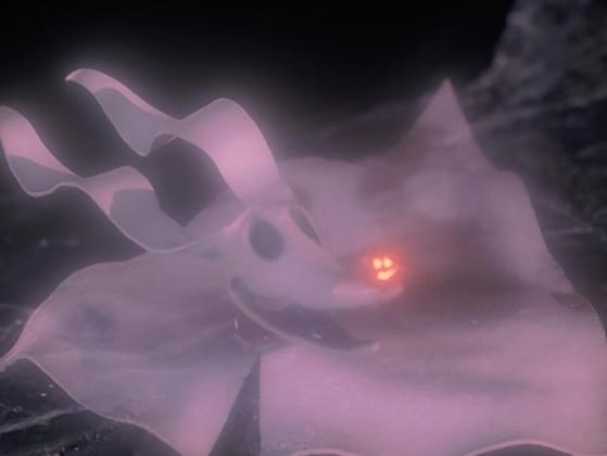 Which spooky dog belonged to Jack from The Nightmare Before Christmas?