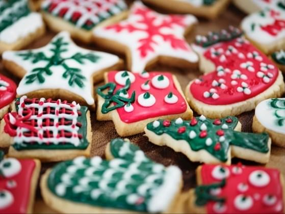 Santa would love some cookies. What are you putting on his plate?
