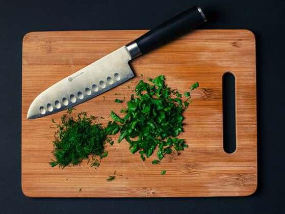 What is the most sanitary type of cutting board?