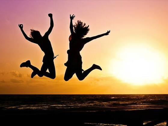 What makes you jump with joy?