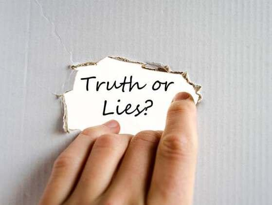 Tales can be truthful or untruthful. It's not true that this tale is untruthful.