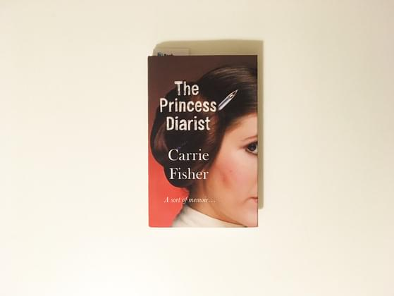 The book was the third such account written by Fisher based on diaries she kept as a young woman around the time she starred in the 1977 hit film Star Wars.