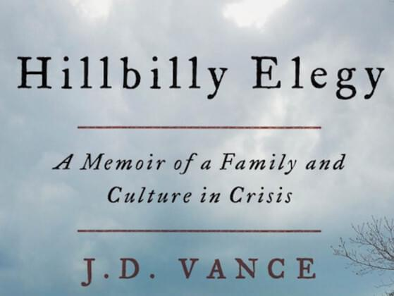 The book is a memoir written by American writer JD Vance about the Appalachian values of his upbringing and their relation to the social problems of his hometown.