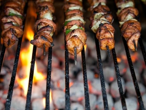 Your ideal street food is:
