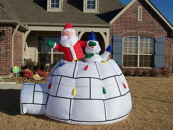 Will you pick up a Christmas inflatable?