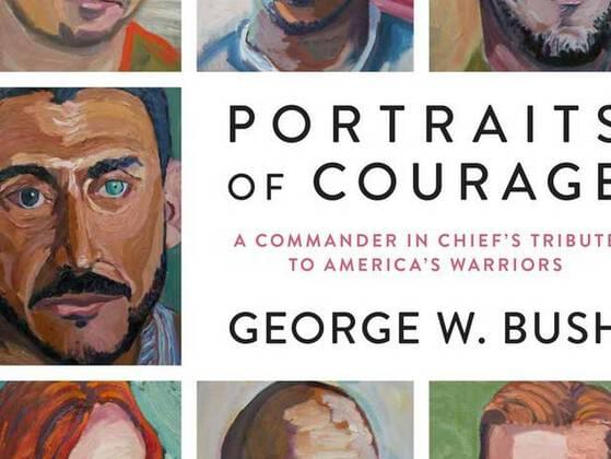 The book was published in the year 2017 and has a collection of oil paintings and stories about Military veterans by former US President George W Bush