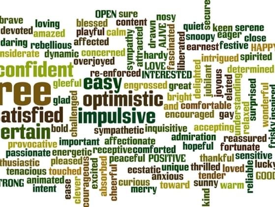 Which word do you most identify with?